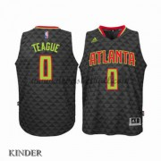 Basketball Trikot Kinder Atlanta Hawks 2015-16 Jeff Teague 0# Road Swingman..