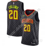 Basketball Trikot Kinder Atlanta Hawks 2019-20 John Collins 20# Schwarz Icon Edition Swingman..