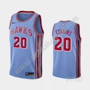 Basketball Trikot Kinder Atlanta Hawks 2019-20 John Collins 20# Blau Classics Edition Swingman..