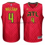 Atlanta Hawks Basketball Trikots 2015-16 Paul Millsap 4# Alternate Trikot Swingman..