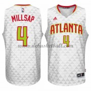 Atlanta Hawks Basketball Trikots 2015-16 Paul Millsap 4# Home Trikot Swingman..