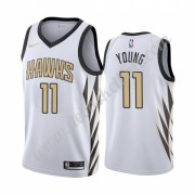 Atlanta Hawks Basketball Trikots NBA 2019-20 Trae Young 11# City Edition Swingman..