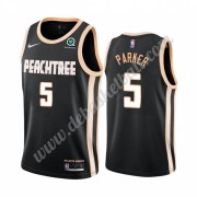 Atlanta Hawks Basketball Trikots NBA 2019-20 Jabari Parker 5# Schwarz City Edition Swingman..