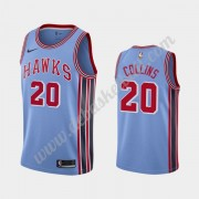 Atlanta Hawks Basketball Trikots NBA 2019-20 John Collins 20# Blau Classics Edition Swingman..
