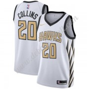 Atlanta Hawks Basketball Trikots NBA 2019-20 John Collins 20# Weiß City Edition Swingman..