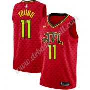 Atlanta Hawks Basketball Trikots NBA 2019-20 Trae Young 11# Rot Statement Edition Swingman..