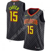 Atlanta Hawks Basketball Trikots NBA 2019-20 Vince Carter 15# Schwarz Icon Edition Swingman..
