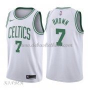 Basketball Trikot Kinder Boston Celtics 2018 Jaylen Brown 7# Home Swingman..