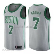Basketball Trikot Kinder Boston Celtics 2018 Jaylen Brown 7# City Swingman..