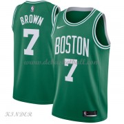 Basketball Trikot Kinder Boston Celtics 2018 Jaylen Brown 7# Road Swingman..