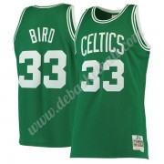 Boston Celtics Basketball Trikots NBA 1985-86 Larry Bird 33# Grün Hardwood Classics Swingman..