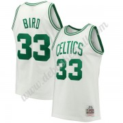 Boston Celtics Basketball Trikots NBA 1985-86 Larry Bird 33# Weiß Hardwood Classics Swingman..