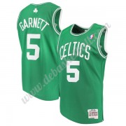 Boston Celtics Basketball Trikots NBA 2007-08 Kevin Garnett 5# Grün Hardwood Classics Swingman..