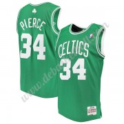 Boston Celtics Basketball Trikots NBA 2007-08 Paul Pierce 34# Grün Hardwood Classics Swingman..