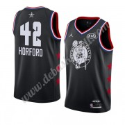 Boston Celtics Basketball Trikots 2019 Al Horford 42# Schwarz All Star Game Swingman..