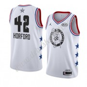 Boston Celtics Basketball Trikots 2019 Al Horford 42# Weiß All Star Game Swingman..