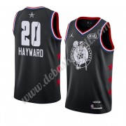 Boston Celtics Basketball Trikots 2019 Gordon Hayward 20# Schwarz All Star Game Swingman..