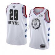 Boston Celtics Basketball Trikots 2019 Gordon Hayward 20# Weiß All Star Game Swingman..