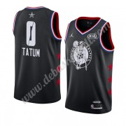 Boston Celtics Basketball Trikots 2019 Jayson Tatum 0# Schwarz All Star Game Finished Swingman..