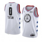 Boston Celtics Basketball Trikots 2019 Jayson Tatum 0# Weiß All Star Game Finished Swingman..