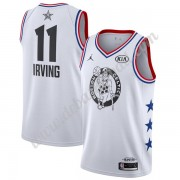 Boston Celtics Basketball Trikots 2019 Kyrie Irving 11# Weiß All-Star Game Finished Swingman..