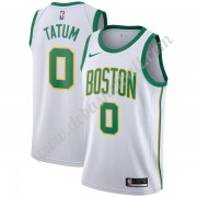Boston Celtics Basketball Trikots NBA 2019-20 Jayson Tatum 0# Weiß City Edition Swingman..