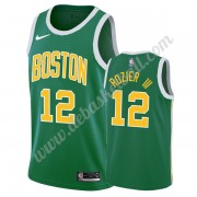 Boston Celtics Basketball Trikots NBA 2019-20 Terry Rozier III 12# Grün Earned Edition Swingman..