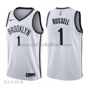 Basketball Trikot Kinder Brooklyn Nets 2018 D'Angelo Russell 1# Home Swingman..