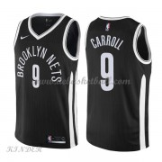 Basketball Trikot Kinder Brooklyn Nets 2018 DeMarre Carroll 9# City Swingman..