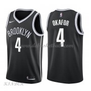 Basketball Trikot Kinder Brooklyn Nets 2018 Jahlil Okafor 4# Road Swingman..