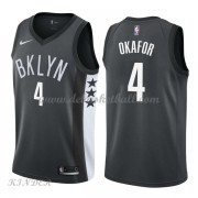 Basketball Trikot Kinder Brooklyn Nets 2018 Jahlil Okafor 4# Alternate Swingman..