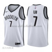 Basketball Trikot Kinder Brooklyn Nets 2018 Jeremy Lin 7# Home Swingman..