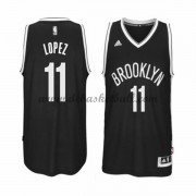 Brooklyn Nets Basketball Trikots 2015-16 Brook Lopez 11# Road Trikot Swingman..
