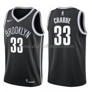 Brooklyn Nets Basketball Trikots 2018 Allen Crabbe 33# Road Trikot Swingman..