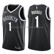 Brooklyn Nets Basketball Trikots 2018 D'Angelo Russell 1# Road Trikot Swingman..