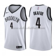 Brooklyn Nets Basketball Trikots 2018 Jahlil Okafor 4# Home Trikot Swingman..