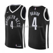 Brooklyn Nets Basketball Trikots 2018 Jahlil Okafor 4# City Swingman..