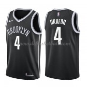 Brooklyn Nets Basketball Trikots 2018 Jahlil Okafor 4# Road Trikot Swingman..