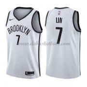 Brooklyn Nets Basketball Trikots 2018 Jeremy Lin 7# Home Trikot Swingman..