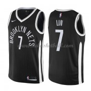 Brooklyn Nets Basketball Trikots 2018 Jeremy Lin 7# City Swingman..