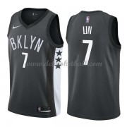 Brooklyn Nets Basketball Trikots 2018 Jeremy Lin 7# Alternate Trikot Swingman..