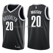 Brooklyn Nets Basketball Trikots 2018 Timofey Mozgov 20# Road Trikot Swingman..