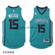 Basketball Trikot Kinder Charlotte Hornets 2015-16 Kemba Walker 15# Alternate Swingman..