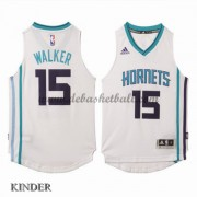 Basketball Trikot Kinder Charlotte Hornets 2015-16 Kemba Walker 15# Home Swingman..
