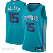 Basketball Trikot Kinder Charlotte Hornets 2018 Kemba Walker 15# Road Swingman..