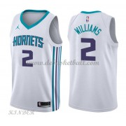 Basketball Trikot Kinder Charlotte Hornets 2018 Marvin Williams 2# Home Swingman..