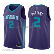 Basketball Trikot Kinder Charlotte Hornets 2018 Marvin Williams 2# Alternate Swingman..