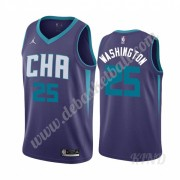 Basketball Trikot Kinder Charlotte Hornets 2019-20 P. J. Washington 25# Lila Statement Edition Swing..