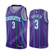 Basketball Trikot Kinder Charlotte Hornets 2019-20 Terry Rozier 3# Lila Classics Edition Swingman..