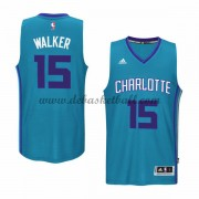 Charlotte Hornets Basketball Trikots 2015-16 Kemba Walker 15# Alternate Trikot Swingman..